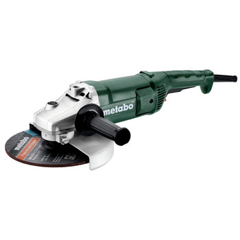Metabo 606435420 W 2200-230 15 Amp 6,600RPM 9 in. Corded Angle Grinder with Lock-on Trigger
