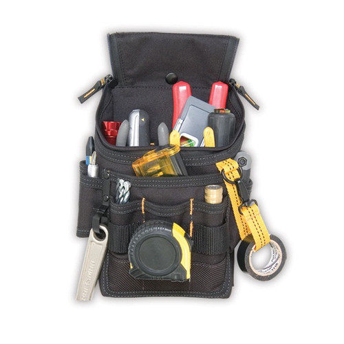 CLC 1524 Medium Poly Ziptop Utility Tool Pouch