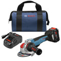Bosch GWX18V-50PCB14 18V X-LOCK Brushless Lithium-Ion 4-1/2  - 5 in. Cordless Angle Grinder Kit (8 Ah) image number 0