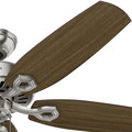 Hunter 53241 52 in. Builder Elite ENERGY STAR Brushed Nickel Ceiling Fan image number 3