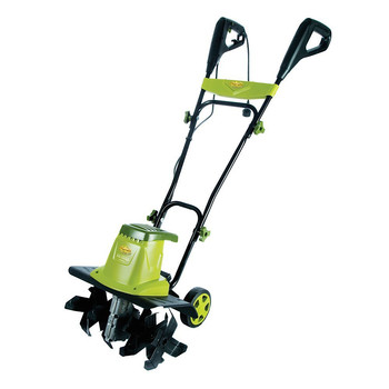 Sun Joe TJ603E Tiller Joe 12 Amp 16 in. Electric Tiller/Cultivator with 5.5 in. Wheels
