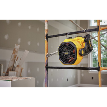 Dewalt DCE511B 20V MAX Cordless Lithium-Ion / Corded Jobsite Fan (Tool Only) image number 3