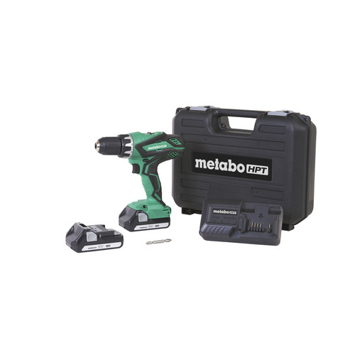 Factory Reconditioned Metabo HPT DS18DGLM 18V 1.3 Ah Cordless Lithium-Ion 1/2 in. Drill Driver Kit image number 0