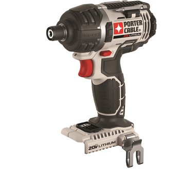 Porter-Cable PCC640B 20V Max Lithium-Ion 1/4 in. Hex Impact Driver (Tool Only) image number 0