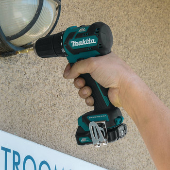 Makita FD07R1 12V max CXT Lithium-Ion Brushless 3/8 in. Cordless Drill Driver Kit (2 Ah) image number 10