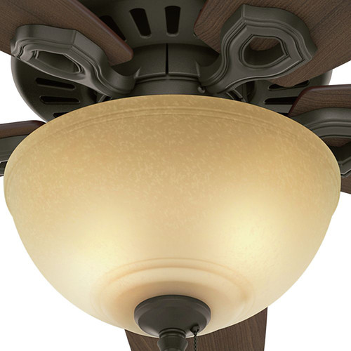 Hunter 52218 42 in. Builder Small Room New Bronze Ceiling Fan with Light image number 8