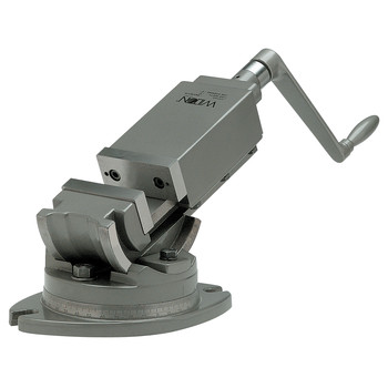 Wilton 11706 2 Axis Angular Vise, 5 in. Jaw Width, 5 in. Jaw Opening, 2 in. Jaw Depth