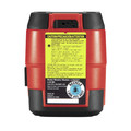 Skil LL932301 50 ft. Self-levelling Red Cross Line Laser with Integrated Rechargeable Lithium-Ion Battery image number 3
