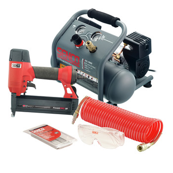 SENCO PC1343 18 Gauge Finish Nailer and Air Compressor Combo Kit