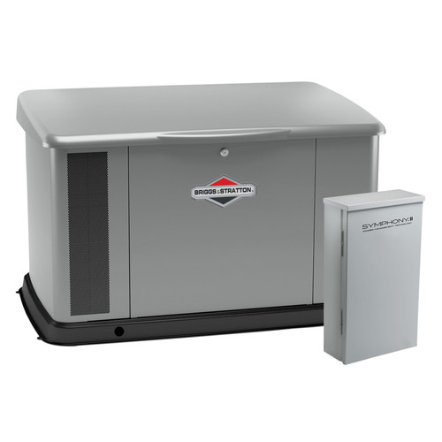 Briggs & Stratton 040636 20kW Generator with Aluminum Enclosure and 150 Amp Symphony II Switch image number 0