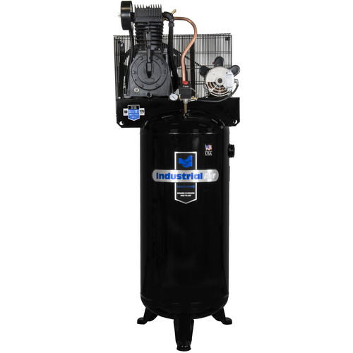 Industrial Air IV5076055 5 HP 60 Gallon Two-Stage Air Compressor with Century Motor (No Mag Starter)