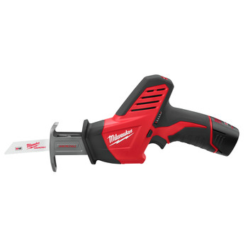 Milwaukee 2420-21 M12 Lithium-Ion HACKZALL Reciprocating Saw Kit with Battery image number 2