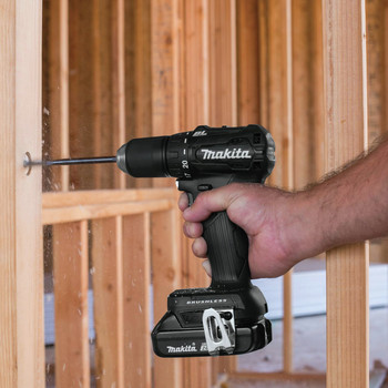 Makita XFD11RB 18V LXT Lithium-Ion Brushless Sub-Compact 1/2 in. Cordless Drill Driver Kit (2 Ah) image number 11