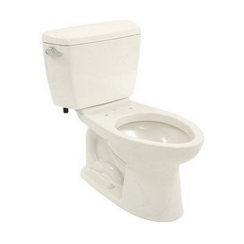 TOTO CST744EL#11 Eco Drake Elongated 2-Piece Floor Mount Toilet (Colonial White)