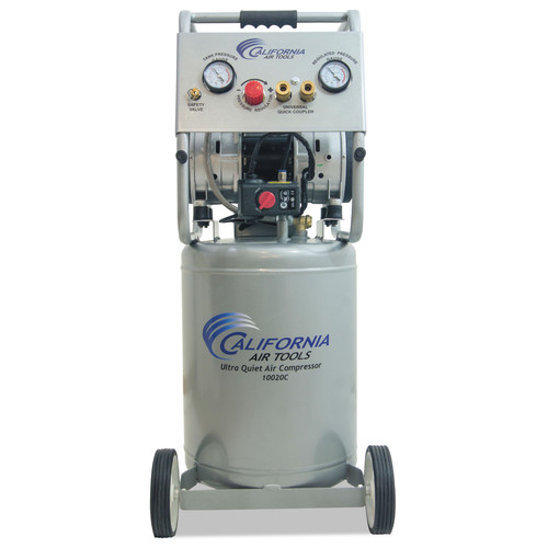 California Air Tools CAT-10020CAD 2 HP 10 Gallon Oil-Free Dolly Air Compressor image number 0