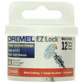 Dremel EZ456B-01 EZ Lock 1-1/2 in. Cut-Off Wheels for Metal (12-Pack)