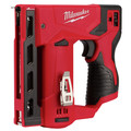 Milwaukee 2447-20 M12 Compact Lithium-Ion 3/18 in. Cordless Crown Stapler (Tool Only) image number 0