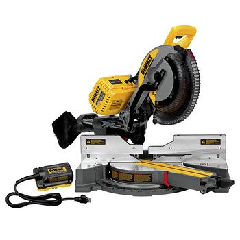Dewalt DHS790AB 120V MAX FlexVolt Cordless Lithium-Ion 12 in. Sliding Compound Miter Saw with Adapter Only (Tool Only)