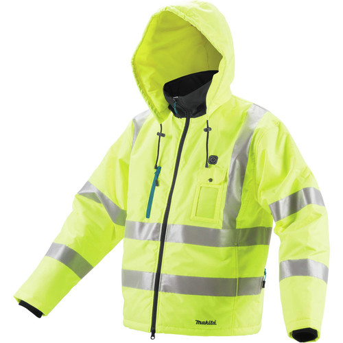 Makita DCJ206ZL 18V LXT Lithium-Ion Cordless High Visibility Heated Jacket (Jacket Only) - Large