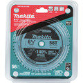 Makita B-57342 6-1/2 in. 56T Carbide-Tipped Cordless Plunge Saw Blade image number 1