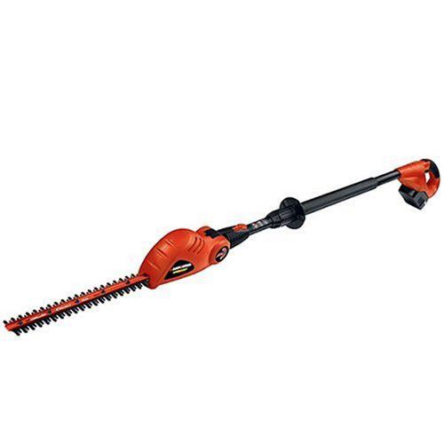 Factory Reconditioned Black & Decker NPT318R 18V Cordless 18 in. Extended Reach Dual Action Electric Hedge Trimmer