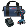 Bosch GSB18V-490B12 18V EC Brushless 1/2 in. Hammer Drill Driver Kit (2 Ah) image number 0