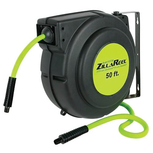Legacy Mfg. Co. L8250FZ ZillaReel 3/8 in. x 50 ft. Enclosed Plastic Air Hose Reel image number 0