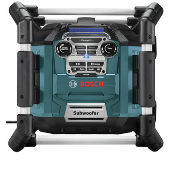 Factory Reconditioned Bosch PB360C-RT 18V Cordless Lithium-Ion Power Box Jobsite AM/FM Radio/Charger/Digital Media Stereo (Tool Only)