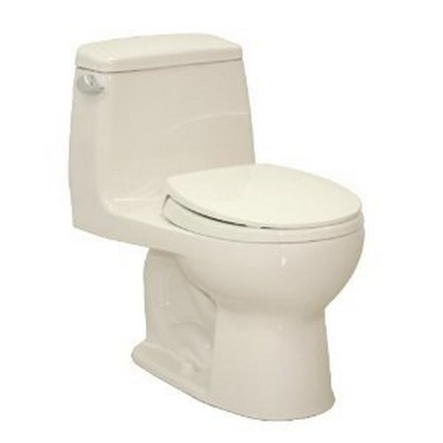 TOTO MS853113E#12 Eco UltraMax Round 1-Piece Floor Mount Toilet (Sedona Beige)