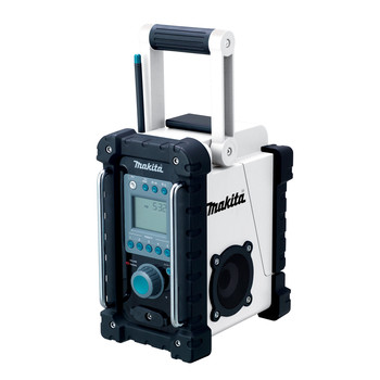Factory Reconditioned Makita XRM02W-R 18V LXT Cordless Lithium-Ion Jobsite Radio (Tool Only)
