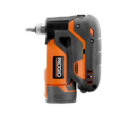 Factory Reconditioned Ridgid ZRR8224K Ridgid 12V Lithium-Ion 1/4 in. Cordless Palm Impact Screwdriver Kit image number 0