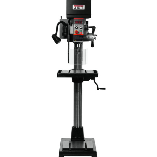 JET 354251 JDPE-20EVSC-PDF 115V 1-Phase 20 in. Variable Speed Drill Press with Clutch Speed Change System and Power Downfeed image number 0