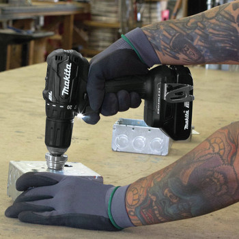 Makita XFD11RB 18V LXT Lithium-Ion Brushless Sub-Compact 1/2 in. Cordless Drill Driver Kit (2 Ah) image number 6