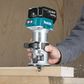 Factory Reconditioned Makita XTR01T7-R 18V LXT Lithium-Ion 1/4 in. Cordless Compact Router Kit (5 Ah) image number 5