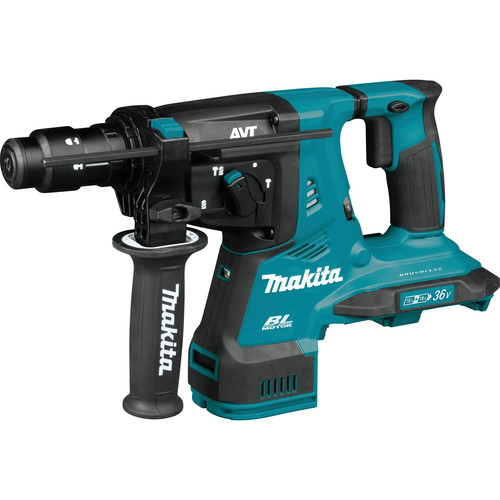 Makita XRH11Z 18V X2 LXT Lithium-Ion (36V) Brushless Cordless 1-1/8 in. AVT Rotary Hammer, accepts SDS-PLUS bits, AFT, AWS Capable (Tool Only) image number 0