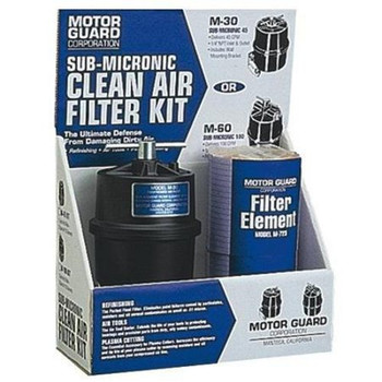 Motor Guard M100 Straight Through Sub-Micronic Compressed Air Filter Kit