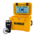Dewalt DXC1013B 10 Quart Roto-Molded Lunchbox Cooler/ 10 Quart Ice Pack Cooler/ 30 oz. Black Tumbler Combo image number 1