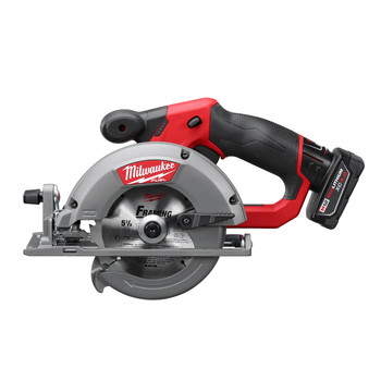 Milwaukee 2530-21XC M12 FUEL Li-Ion 5-3/8 in. Circular Saw Kit with XC Battery image number 2