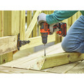Black & Decker BDCDD220C 20V MAX Lithium-Ion 2-Speed 3/8 in. Cordless Drill Driver Kit (1.5 Ah) image number 4