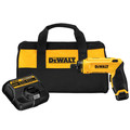 Dewalt DCF680N1 8V MAX Cordless Lithium-Ion Gyroscopic Screwdriver Kit image number 0