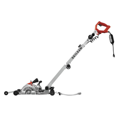 SKILSAW SPT79A-10 7 in. MEDUSAW Walk Behind Worm Drive for Concrete image number 0