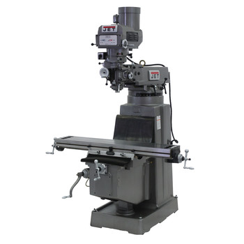 JET JTM-1050 230V Variable Speed Milling Machine with 3-Axis Newall DP700 DRO (Knee)