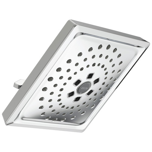 Delta 52684 H2Okinetic 3-Setting Raincan Shower Head (Chrome) image number 0