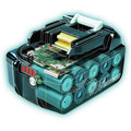 Makita BL1840BDC2 18V LXT Lithium-Ion Battery and Rapid Optimum Charger Starter Pack (4 Ah) image number 3