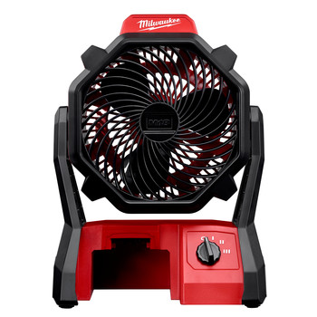Milwaukee 0886-20 M18 18V Portable Jobsite Fan with AC Adapter (Tool Only)
