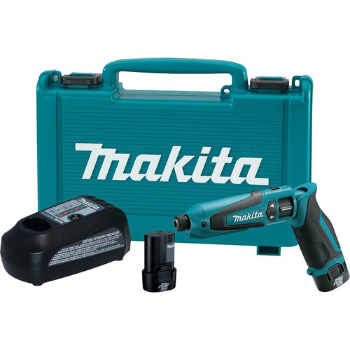 Makita TD021DSE 7.2V Cordless Lithium-Ion 1/4 in. Hex Impact Driver Kit