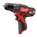 Milwaukee 2497-22 M12 Lithium-Ion 3/8 in. Hammer Drill and Impact Driver Combo Kit image number 1
