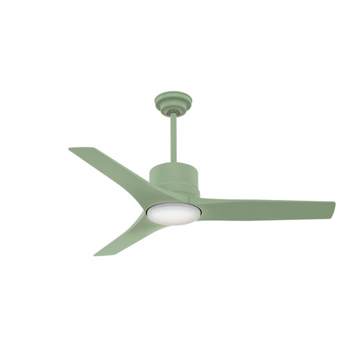 Casablanca 59326 52 in. Piston Ceiling Fan with Light and Remote Control (Sage Green) image number 0