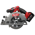 Milwaukee 2730-21 M18 FUEL Cordless 6-1/2 in. Circular Saw with REDLITHIUM Battery image number 3