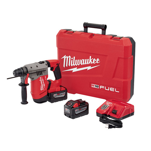 Milwaukee 2715-22HD M18 FUEL 1-1/8 in. SDS-Plus D-Handle Rotary Hammer Kit image number 0